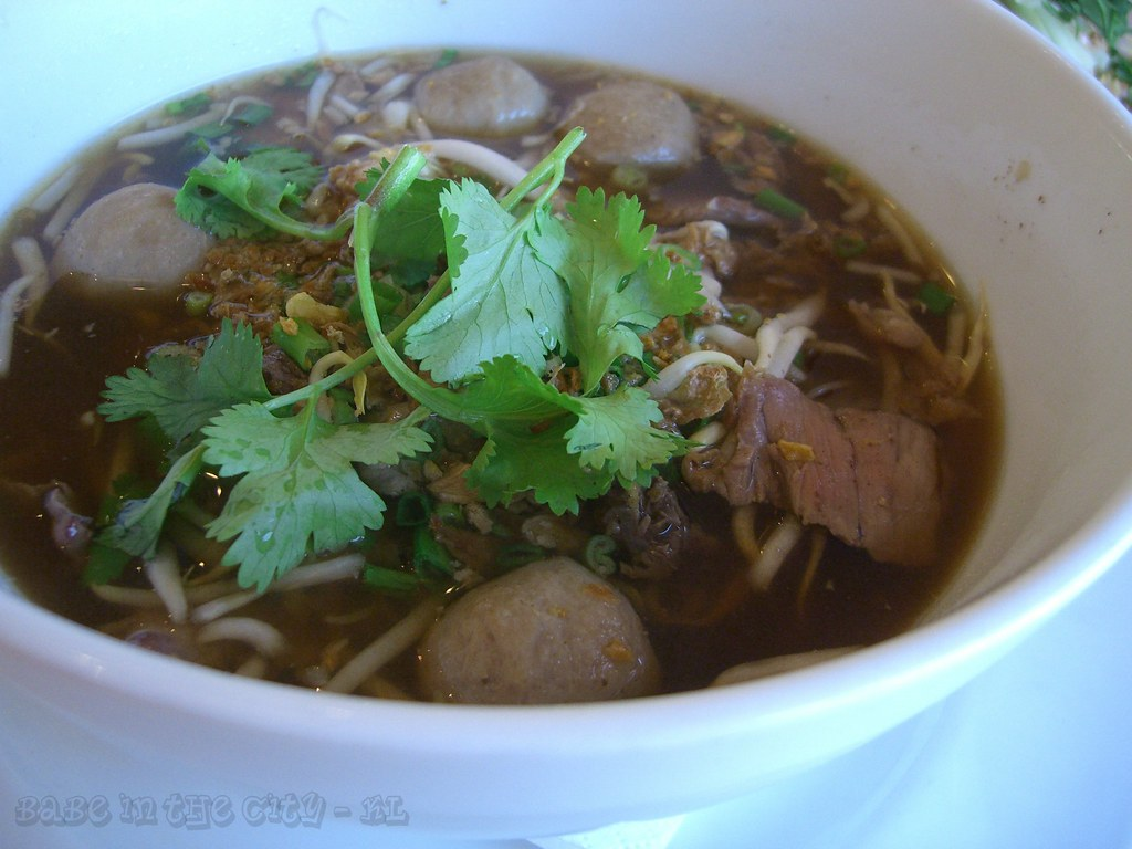 YT - beef noodle soup