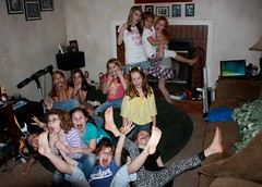 Crazy Birthday Party Girls