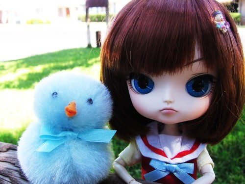 Kaoru and Baby Blue.