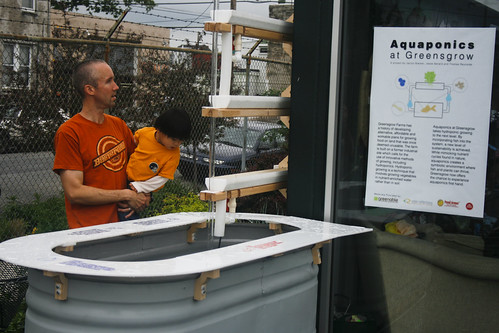 Aquaponics at Greensgrow