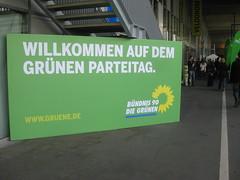 Willkommen auf dem grünen Parteitag.