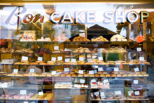 A cake shop in St. Kilda, Melbourne