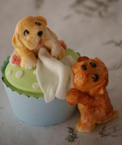 doggie cupcake
