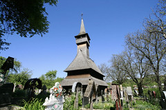 Ieud, Maramure: wooden church (TudorSeulean) Tags: church wooden romania transylvania biserica maramures lemn