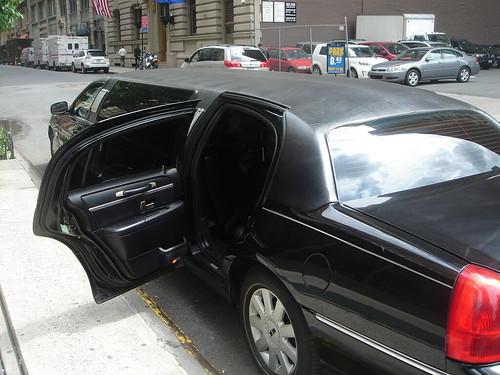 Veilcorp limo