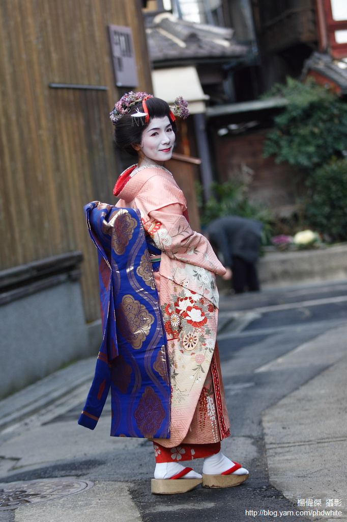 Maiko experience in Kyoto 京都舞妓體驗