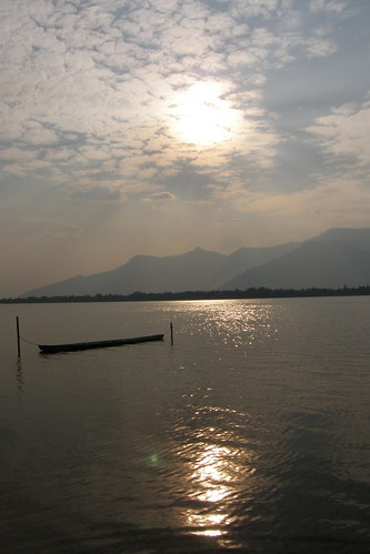 154.Don Daeng島上湄公河的日落 (7)