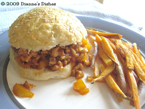 Chicken Sloppy Joes