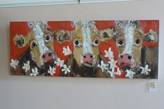 "Deborah Donnelly ""The Farmyard' art exhibition"