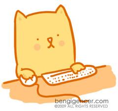 cat (bengi gencer) Tags: orange cute illustration cat