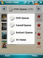 Netflix - DVD Queue