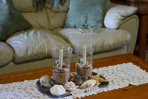 Sea Shell Centerpiece