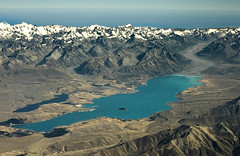 Lake Tekapo, New Zealand (Kenny Muir) Tags: new lake water landscape island sony south country cook aerial glacier mount zealand mackenzie tekapo aoraki a700