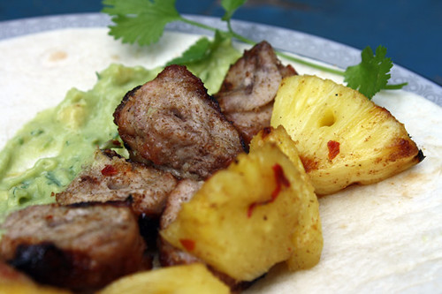 Grilled Pork and Pineapple Tacos 1