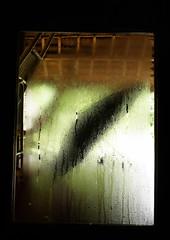 Marari #9Umbrella (Farhiz) Tags: window rain misty umbrella kerala diagonal monsoon waterdroplets windowframe alleppey alleppy seenthrough mararibeach photodomino767 afterclass5112whenlighthitswater