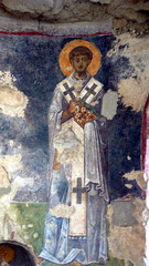 Fresco in  Church of St. Nicholas (2) (Bill Abrams) Tags: turkey trkiye trkei stnicholas kale fresco myra demre turchia turkei dmclx2 panasoniclumixdmclx2 churchofstnichola billabrams odysseysunlimited