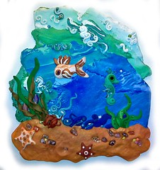 Sea Life, inspired by Christi Friesen