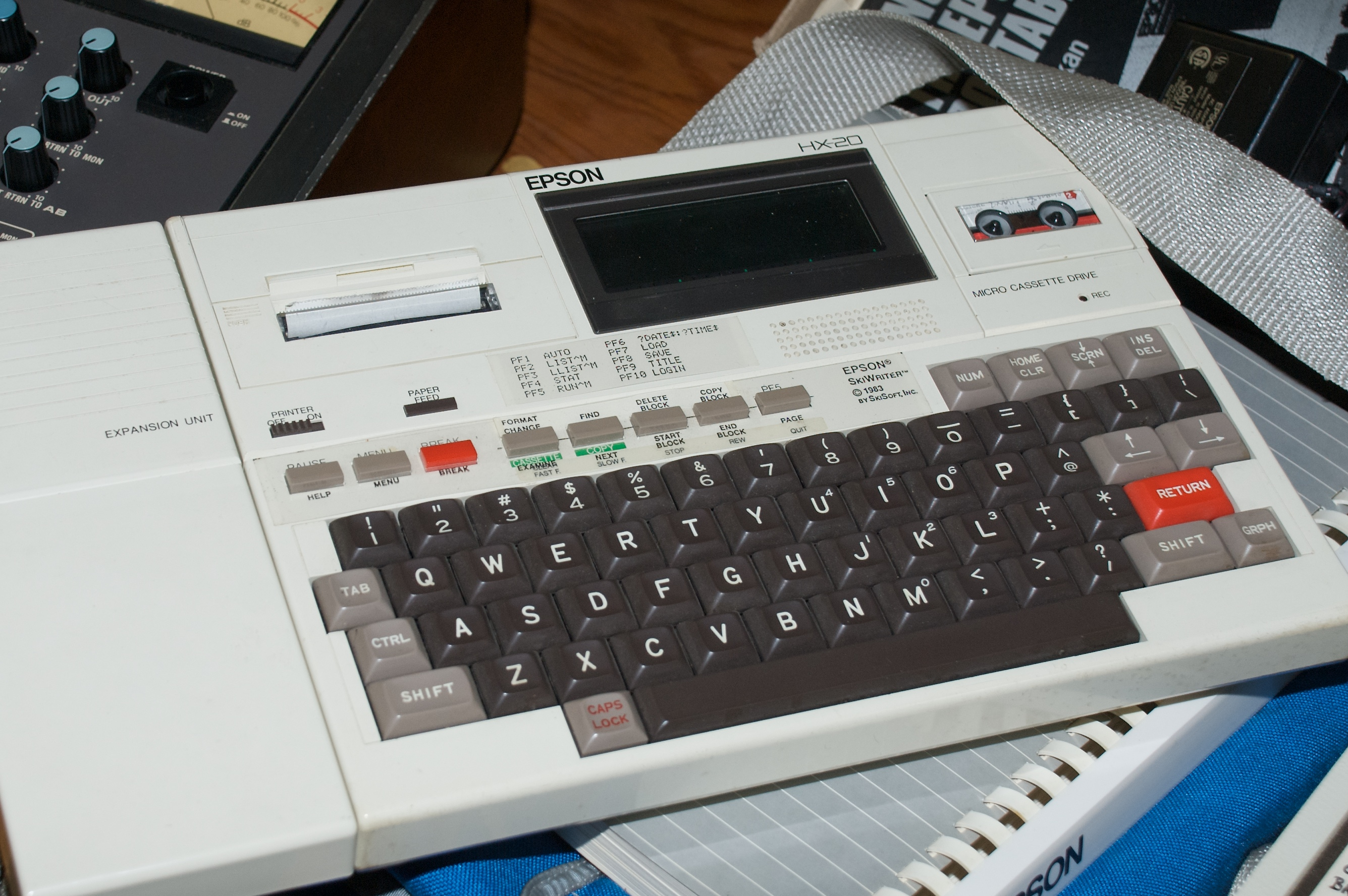 The Epson HX-20. A classic example of early notebooks...the