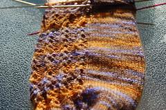 Lacy Rib Sock #2