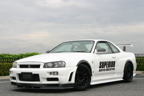 Superior Auto R34 Gt R With Ssr Type F 187 More Japan Blog