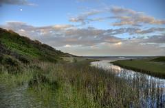 Moonee Beach Creek Reflections HDR