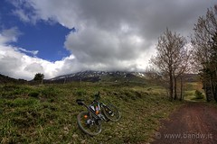 On The Road in MTB (-Bandw-) Tags: wallpaper sky italy panorama mountain bike rock clouds digital canon landscape geotagged eos rebel high italia nuvole cross country front cielo mtb bici sicily wallpapers bandw rider range turismo geotag etna hdr sicilia xsi 81 bicicletta trinacria sicile sizilien canonefs1022mmf3545usm dinamic sicilië photomatix sicília tonemapped rockrider 6368 シチリア 450d canoneos450d flickrsicilia digitalrebelxsi altomontana bandwit wwwbandwit canoneos450ditalia صقلية b'twin geo:lat=37729178 geo:lon=14952933