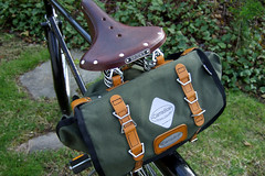 Carradice Barley Bag (reehren) Tags: barley bicycle raleigh tourist saddle brooks 3speed dl1 saddlebag carradice b66