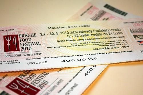 PFF 2010 ticket