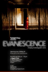 Evanescence - my fine art photography show