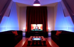 My room 'shines' (maartenbmx) Tags: lighting house colors room inspired experiment symmetry movies rgb shining stanleykubrick suspiria