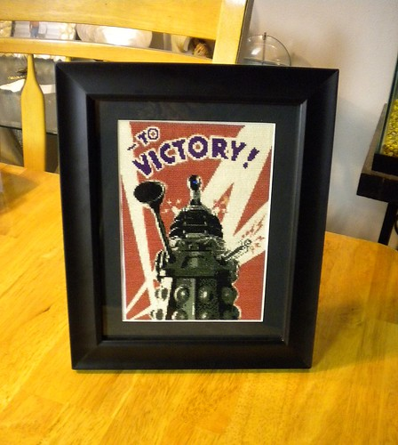 Dalek Victory Cross Stitch