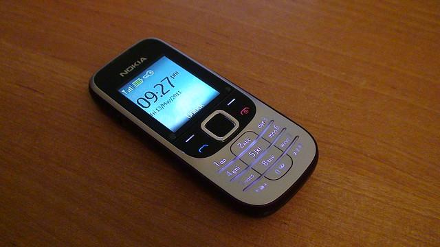 Laimėtasis Nokia 2330 telefonas