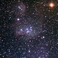 LH95- Star Birth in LMC (DPSimaging) Tags: chile longexposure sky color night stars space cluster science telescope astrophotography astronomy saras ccd filters rgb lmc astrophysics apogee deepsky floridatech ctio 6meter extragalactic starformation stellarnursery Astrometrydotnet:status=solved lh95 astrogayzer Astrometrydotnet:version=14400 altae6 Astrometrydotnet:id=alpha20110567345564