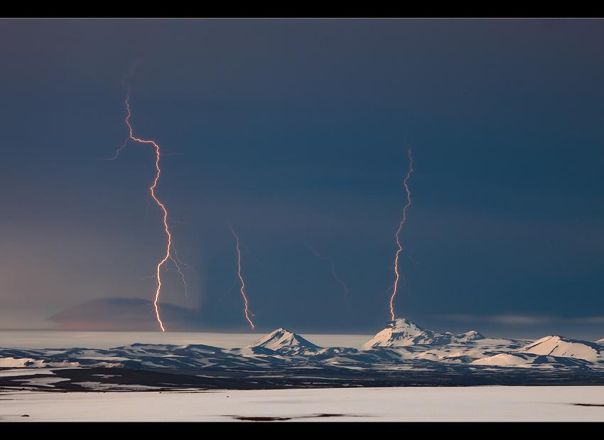 Grímsvötn Eruption - Vatnajökull, Iceland
