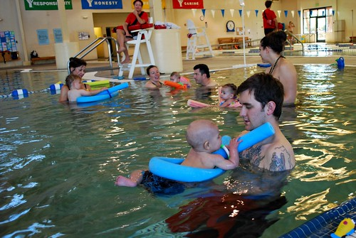 swim class at the Y
