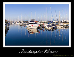 Southampton Marina (tamilian / photo-capture.co.uk) Tags: uk winter sea england water marina photoshop canon coast south january adobe dslr southampton 2009 satish sathish 30d cs3 jayagopal photocapturecouk
