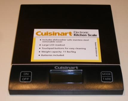 My New Kitchen Scale