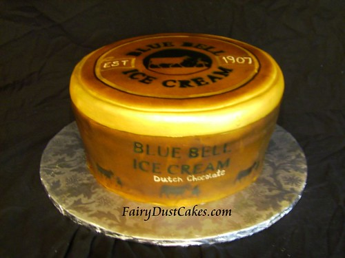 Blue Bell Ice Cream Cake