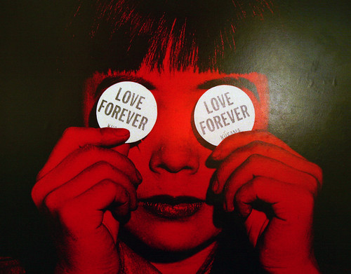Yayoi Kusama - Love Forever - MOMA Poster - 1999 - Detail