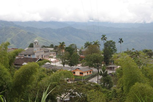Rosas town, southern Colombia.