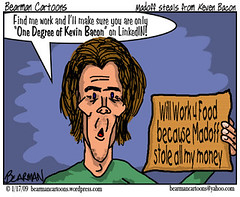 110 09  Bearman Cartoon Kevin Bacon victim of ...