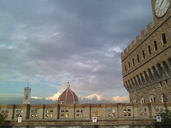 Duomo and Uguccioni Palace from Uffizzi (jasonrward) Tags: florence uffizi doumo uguccionipalace