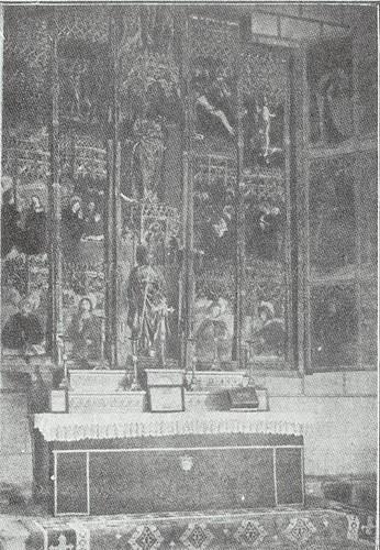 Capilla de Santa Catalina de la Iglesia de El Salvador de Toledo a principios del siglo XX