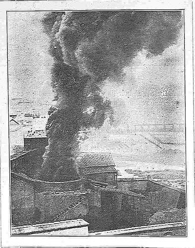 Fábrica de loza en la Antequeruela de Toledo hacia 1928