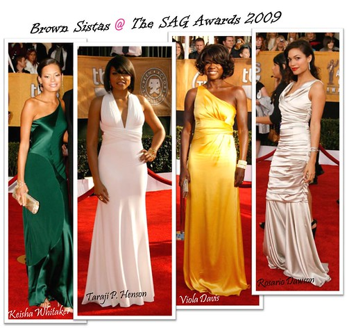 Fashion: Brown Sistas @ the SAG Awards