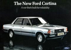 Ford Cortina 80 (Stuart Axe) Tags: classic ford cortina car sedan classiccar 80s 70s 1970s 1980s saloon 1979 taunus ghia mk4 fordcortina mk5 fordtaunus cortina80 dagenhamdustbin