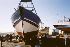 - (micampe) Tags: rust kodak voigtlander maroc 160vc portra essaouira 25mm ruggine skopar leicacl