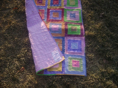 Lydia Ragged Squares Quilt