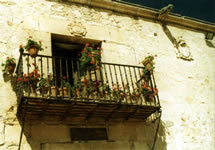 A Balcony in Pedraza Spain