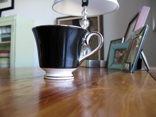 tea cup + handle